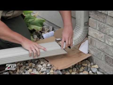 Zip Hinge Canada Downspout Extension Hinge Overview
