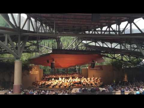 O Fortuna(Carmina Burana) by Dallas Symphony Orchestra @ Vail, Colorado 06/29/2016