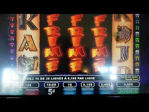 Faune frimé the wildlife slot loto quebec-another MONSTER handpay