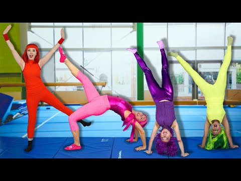 THE SUPER POPS GYM CLASS CHALLENGE Totally TV Challenges