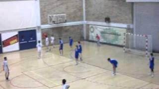 Handball Παμπαίδες Δούκας-Πανελλήνιος (32-32) 18/4/2011 Β