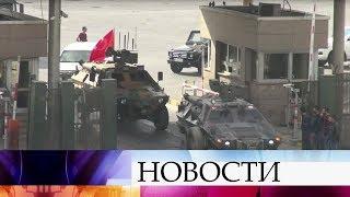 Турция стягивает военные силы к сирийской границе в связи с решением США о создании Курдской армии.