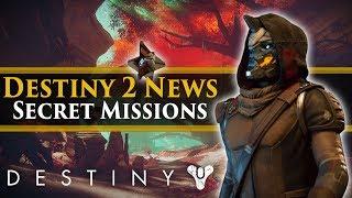 Destiny 2 News - Secret missions! Hidden Director Locations! All Destiny 2 Planets!