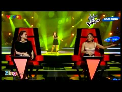 I Will Always Love You - Huong Tram [The Voice Vietnam - Blind Audition S1E1]