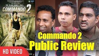 Commando 2 The Black Money Trail Public Movie Review | Vidyut Jammwal, Adah Sharma, Esha Gupta
