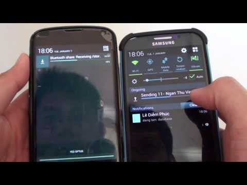 Samsung Galaxy S4: How To Transfer Music To Another Device Using Bluetooth