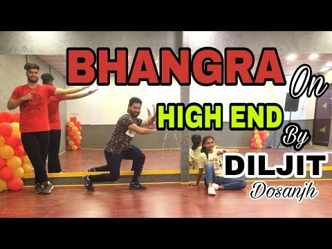 BHANGRA ON ll HIGH END ll DILJIT DOSANJH ll CON. FI.DEN.TIAL ll Folk bhangra Studio(2018)
