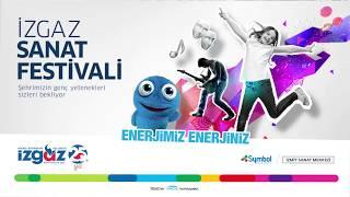 İzgaz Sanat Festivali - Bahçeşehir Koleji Halk Oyunları Ekibi