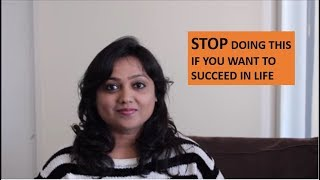 STOP DOING THIS IS IF YOU WANT TO SUCCEED IN LIFE Video