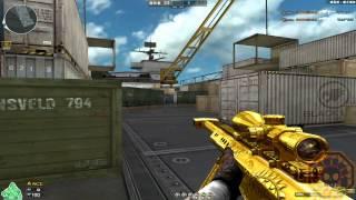Cross Fire China || Barrett M82A1-Ultimate GoldSmith [GamePlay]!