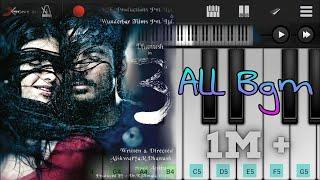 3 All Bgm Piano | Moonu All Bgm Piano | Anirudh | Danush | Tamil Movie | Mobile Piano