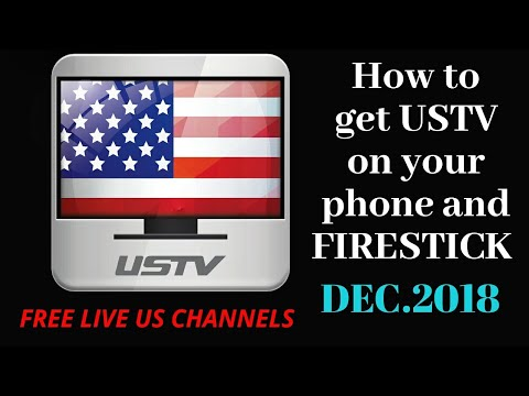 How to get and use the USTV app on a firestick(Unlocked by Elfinder)