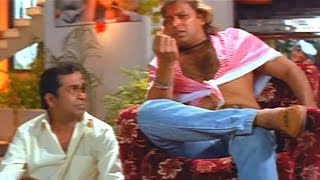 Number One Movie Comedy Scene - Dasu Punished By His Boss (News Paper) - Brahmanandam