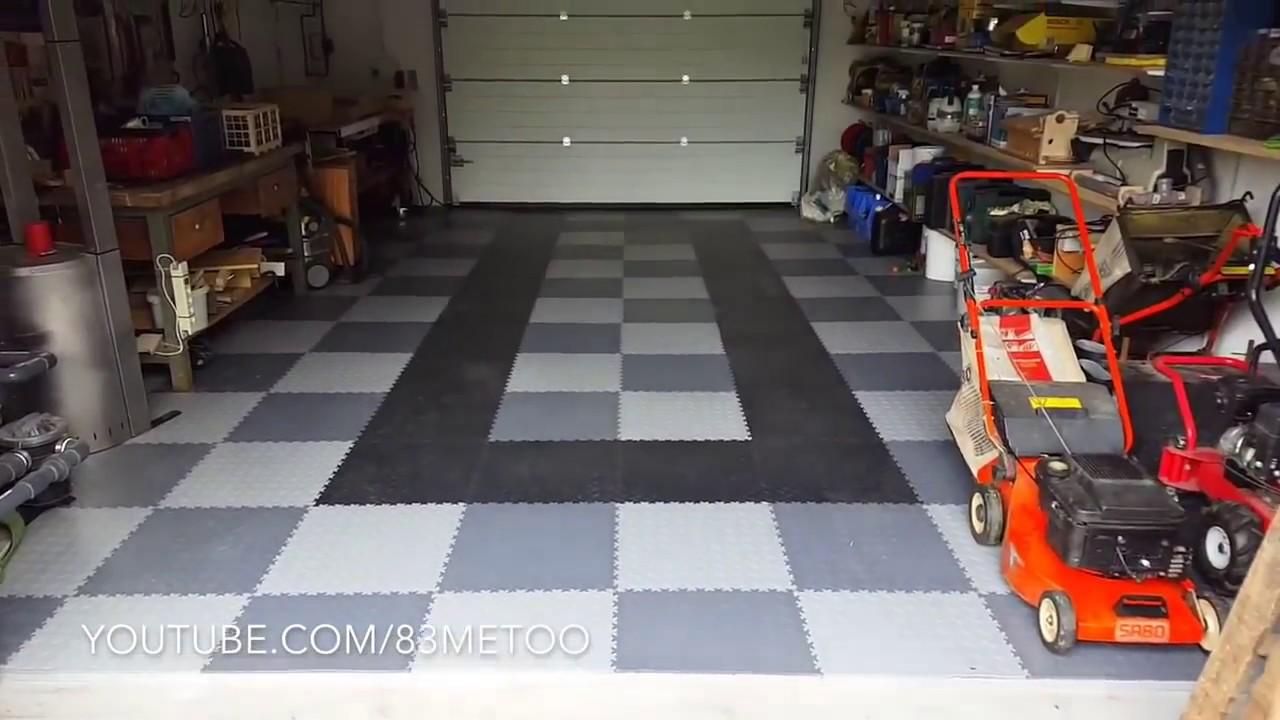 Szybka Renowacja Podłogi W Garażu Posadzki Z Pcv Z Zamkiem
