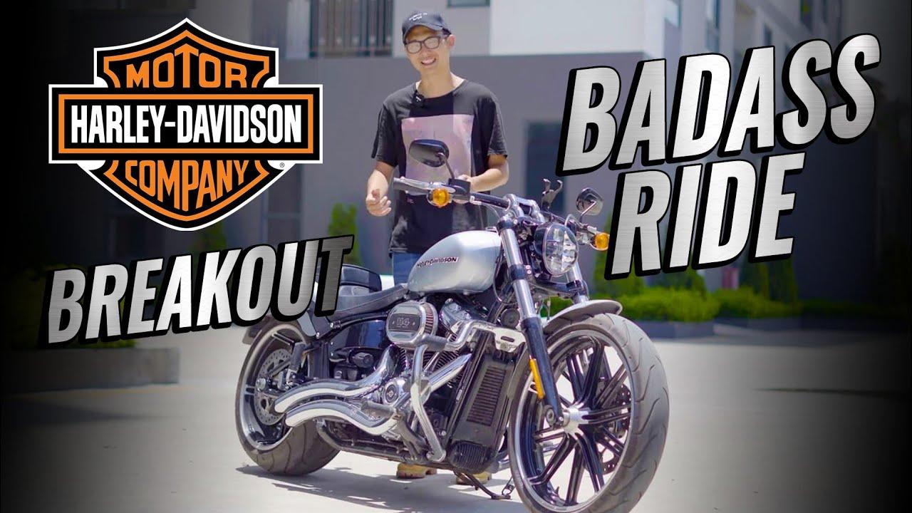 Harley-Davidson Breakout: Xe khá ngầu cho người khá giàu! | Đường 2 Chiều