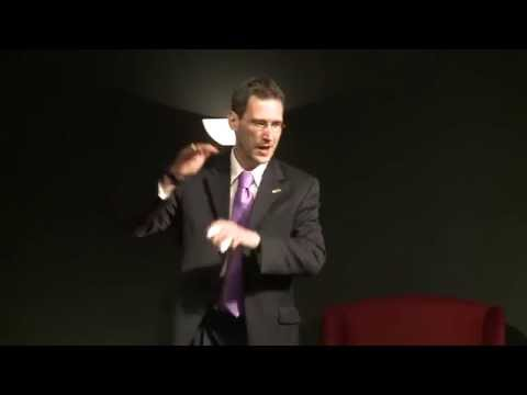 The Secret Lives of Diplomats: Joey Hood at TEDxDhahranHighS