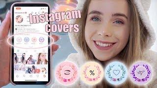 Hvordan lage unike Instagram highlight covers helt gratis og enkelt Mina Jacobsen