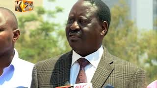 Raila accuses safaricom of collaborating with Safran to manipulate results