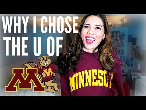 WHY I CHOSE THE UNIVERSITY OF MINNESOTA!! College of Liberal Arts // English Major