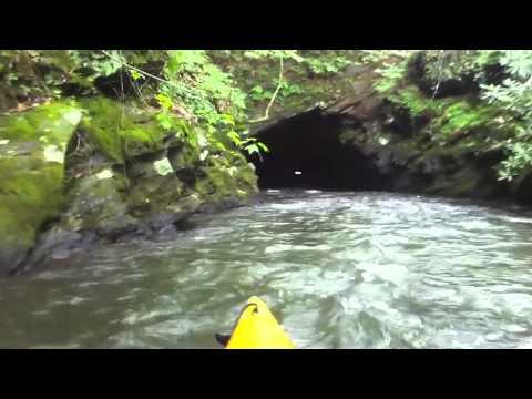Adventure through the Etowah River Mine Tunnel