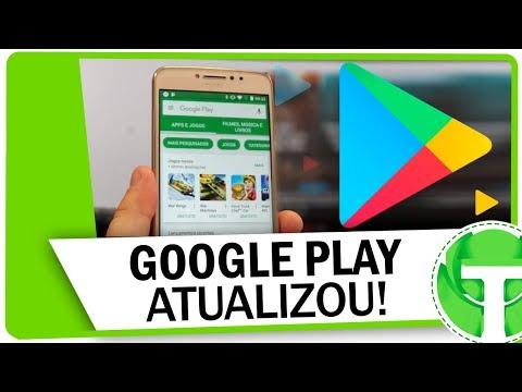 GOOGLE PLAY ATUALIZOU! Confira oque mudou na Play Store