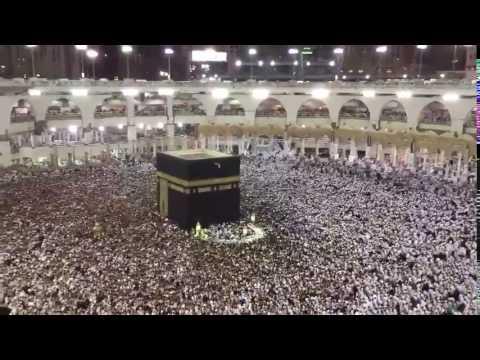 فيديو: يظهر الزحام الشديد في صحن مطاف الحرم المكي ليلة السابع والعشرين