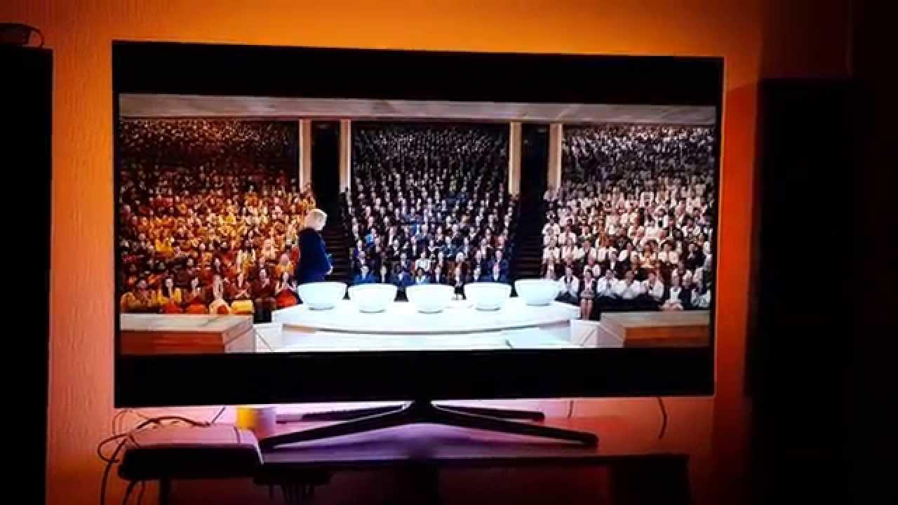 Arduino Ambilight on 55inch Samsung tv 4k