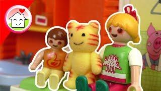 Playmobil Film deutsch - Bindehautentzündung - Familie Hauser Spielzeug Kinderfilm