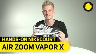 NikeCourt Air Zoom Vapor X | Hands On | Tennis-Point