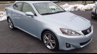 2012 Lexus IS250 Walkaround, Start up, Exhaust, Tour and Overview