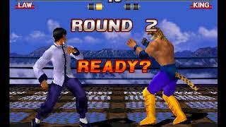 Tekken 3 ( PS1 ) - Law - Arcade Mode - Original Music ( Dec 12, 2017 ) thumbnail