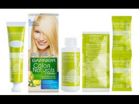 Garnier color naturals E0 для обесцвечивания волос