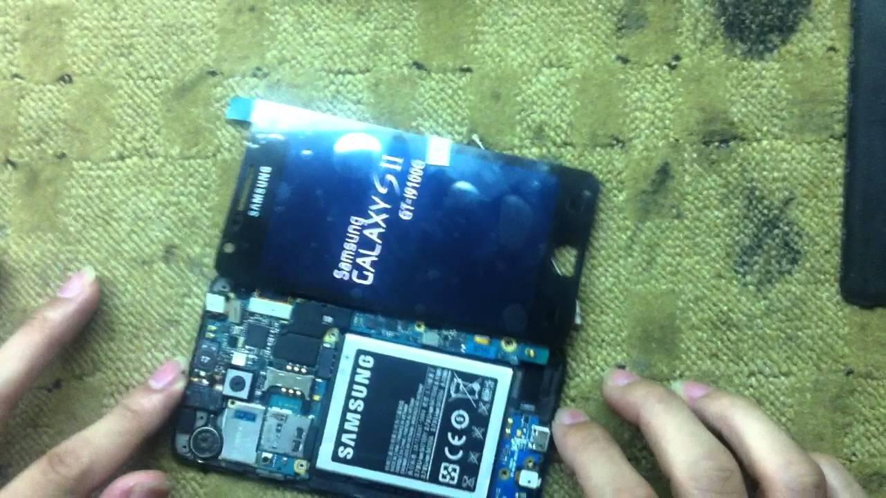 Thay màn hình Samsung Galaxy S2