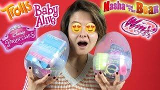 2 Sürpriz Yumurta ve Oyuncak Açma   Çocuk Videosu - Evcilik TV
