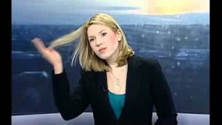 News Reporter Doesnt Realise She Is On Live TV!! thumbnail