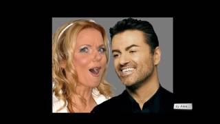 "GEORGE MICHAEL and GERI HALLIWELL  ""Angels In Chains "" a tribute 1963 - 2016"