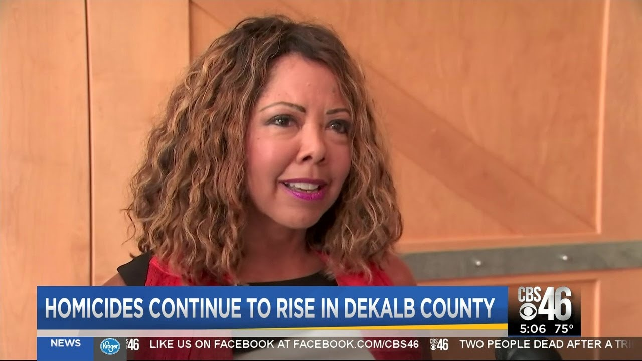 Rep.Lucy McBath speaks out on guns,  increase in homicides