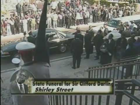 Bahamas State Funeral for Sir Clifford Darling Part 1