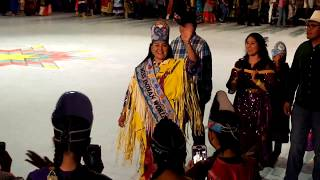 GATHERING OF NATIONS POW WOW 2019   Day 2  Miss Indian World 2018 Taylor Susan Exit procession