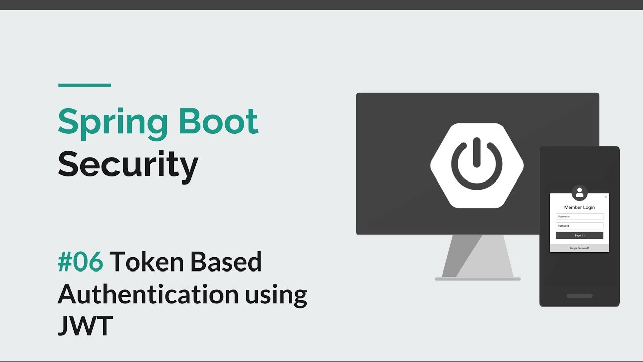 [Spring Boot Security] #06 JWT Authentication