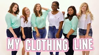 My Clothing Line is Here! THE CURVY CREW.