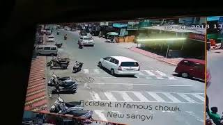Brutual accident caught on camera in Pune