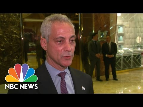 Rahm Emanuel Meets With Donald Trump To Push For DACA Continuation | NBC News