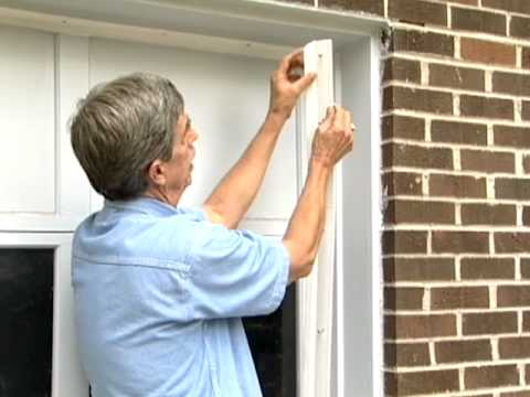 garage door trim kitGarage Door Weather Seal Tips  YouTube