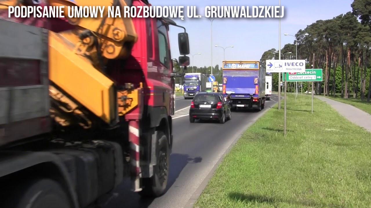Podpisanie umowy na rozbudowę ul. Grunwaldzkiej
