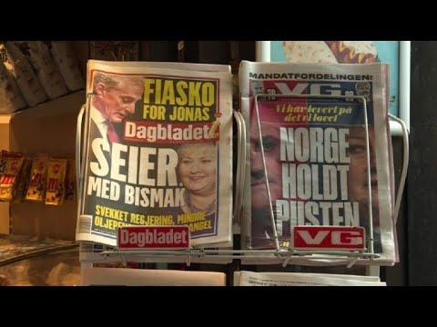 Newspaper headlines after Norway reelects PM