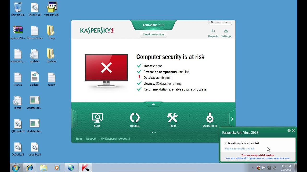 How to update Kaspersky 51