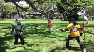 SSG Honolulu pas d'armes 2017 Apr. 2nd pass Tom v Andrew