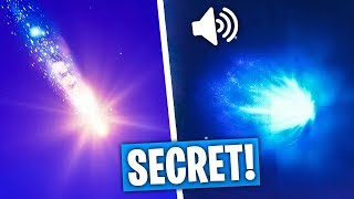 SECRET: EPIC GAMES CONFIRMETHE METEORITE on FORTNITE!