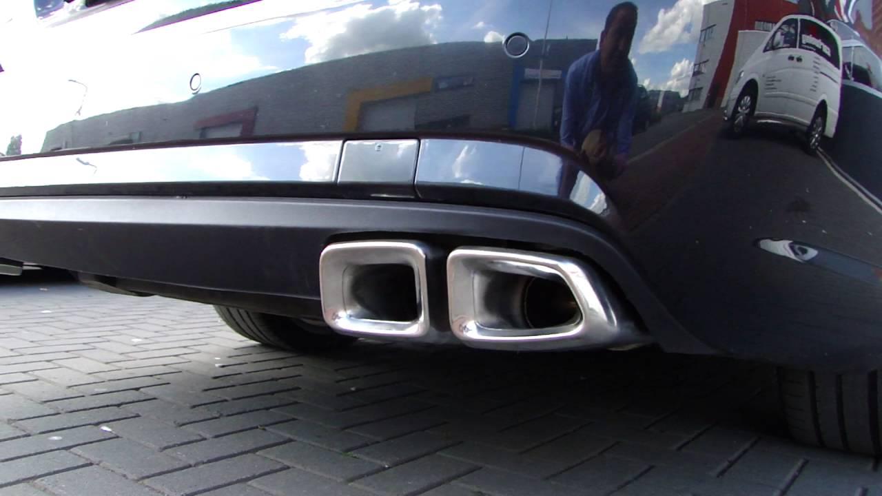 Mercedes W212 E220 Cdi Duplex Amg Look Exhaust Uitlaat Sportuitlaat